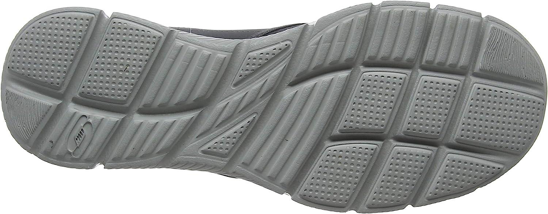 Skechers Herren Ultra Flex-salutations-51361 Low-Top Grau Char