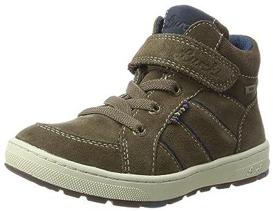 sale retailer 592ce dadbf Amazon.com | Lurchi Boys' Dusty-Tex Hi-Top Trainers | Sneakers