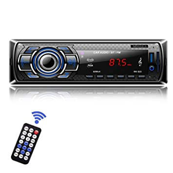 MEKUULA RK-522 - Reproductor Digital de MP3 para Coche, estéreo, Entrada de