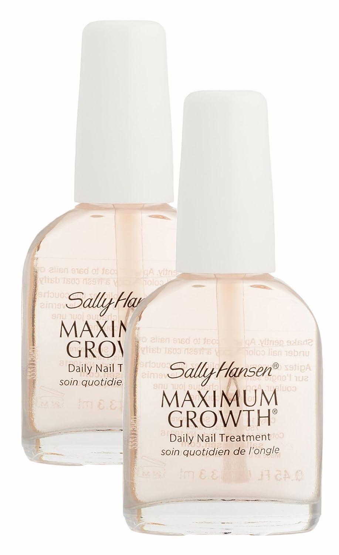 Amazon.com : Sally Hansen Maximum Growth, Daily Nail Growth ...