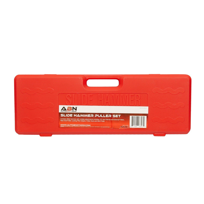 ABN Slide Hammer Puller Set Wheel Bearing Removal Tool w/Slide Hammer Attachments – Wheel Hub Puller Dent Repair Kit by ABN (Image #6)