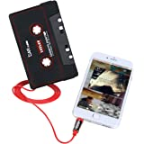 Audio AUX Car Cassette Tape Adapter Converter 3.5 MM for iPhone iPod MP3
