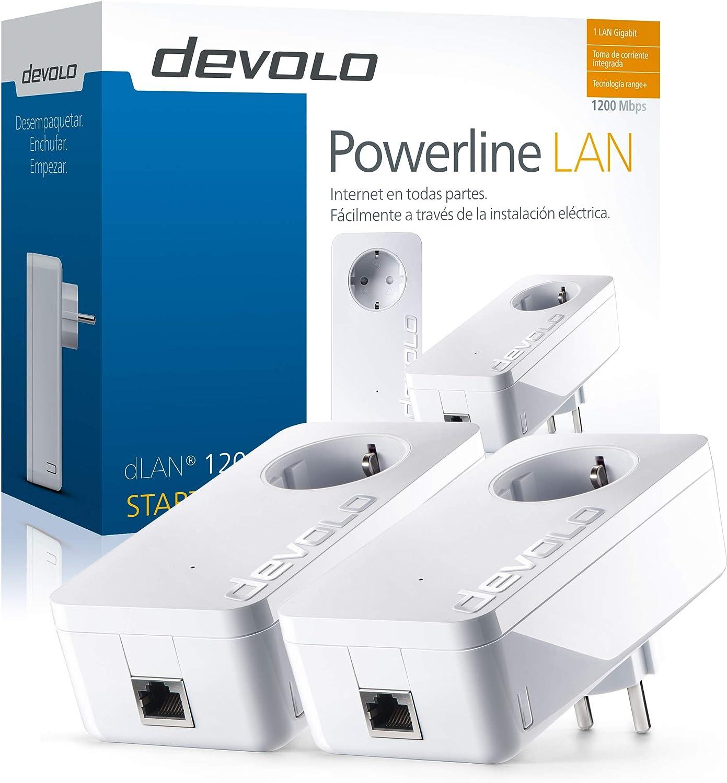 Plc Devolo Dlan 1200 Starter Kit Computers Accessories