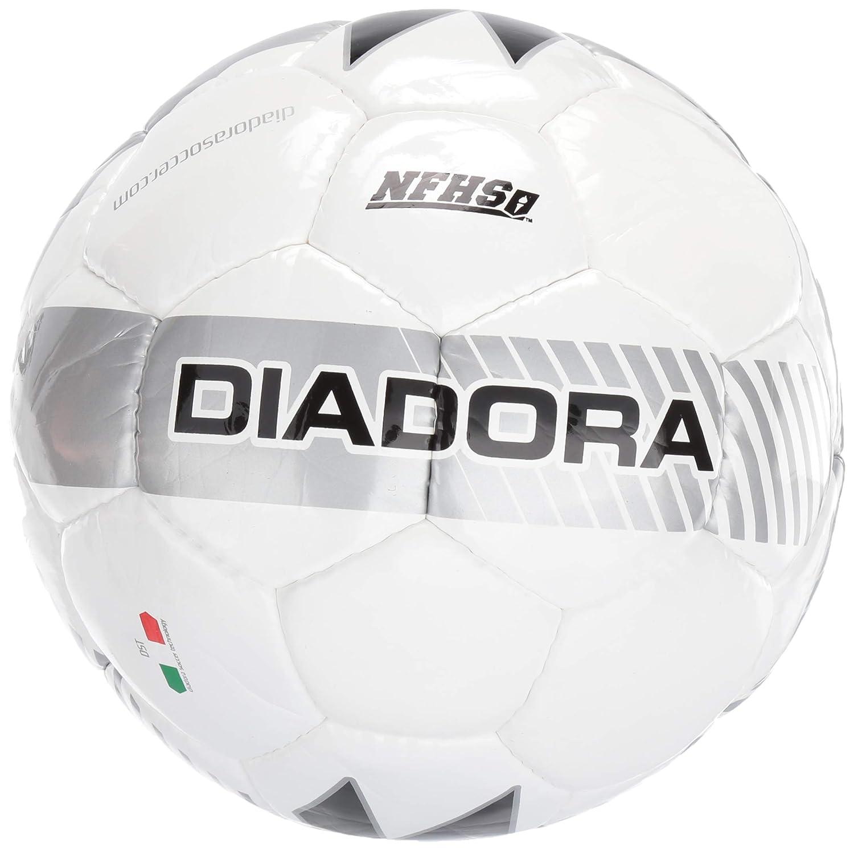 Diadora Coppa II - Balón de fútbol, Color Blanco/Plateado, tamaño ...