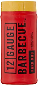 12 GAUGE BARBECUE | Cajun Dry Rub Seasoning for any meat such as Pork Ribs Butt Steak Beef Brisket Chicken Wings and Seafood | 16 Ounce 1 LB
