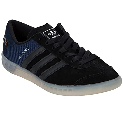 san francisco 5492c 60618 Zapatillas adidas - Hamburg Tech negronegroblanco talla 40 adidas  Originals Amazon.es Zapatos y complementos