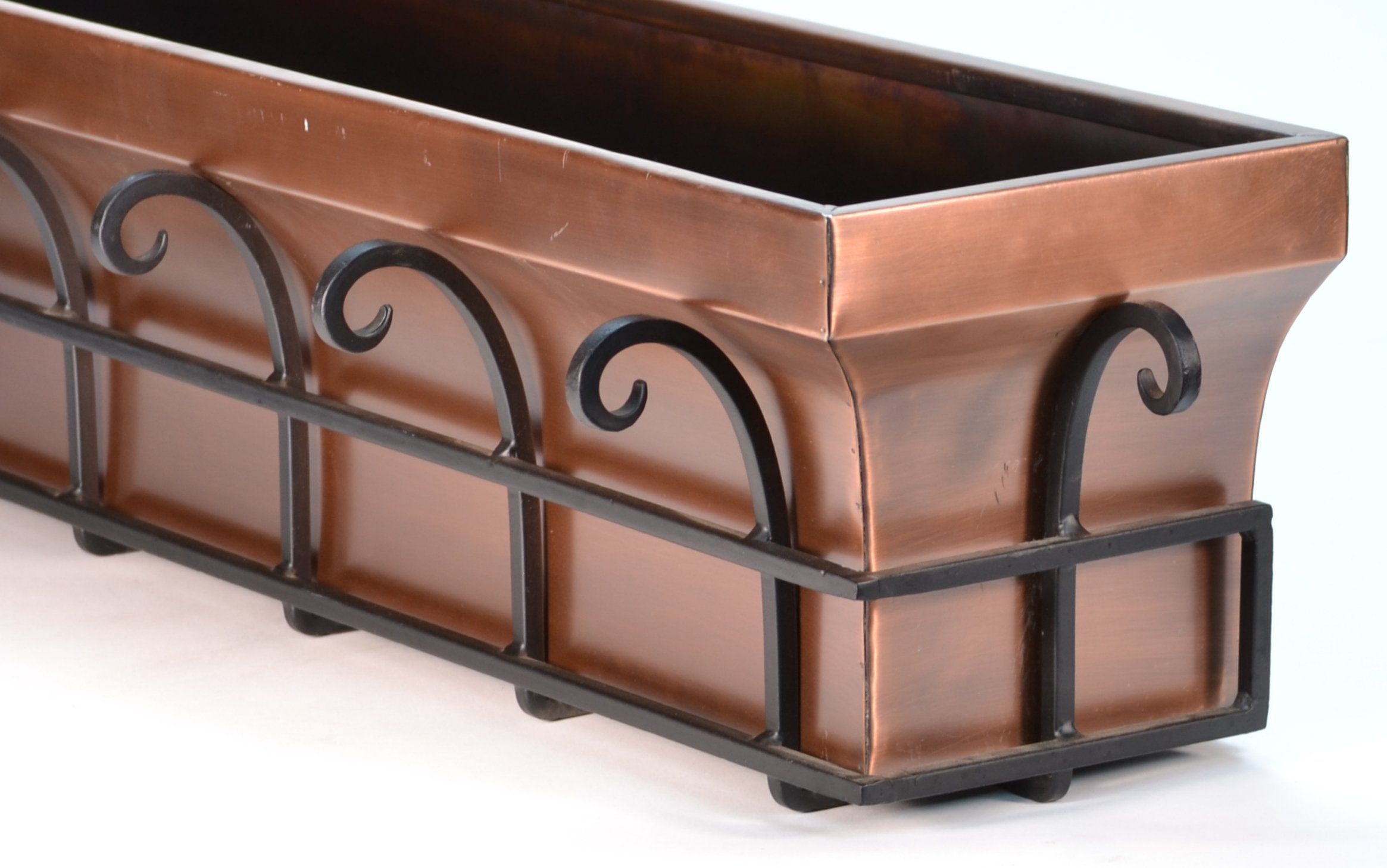 H Potter Copper Window Flower Garden Box Planter (36 Inch Length) by H Potter