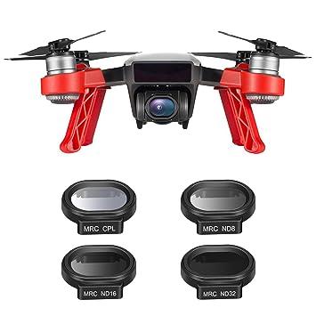 Neewer 4 Piezas Drone Neutra Densidad ND Kit de Filtro para DJI ...