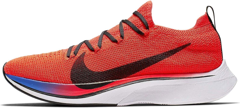 Nike VAPORFLY 4% Flyknit, Zapatillas de Atletismo Unisex Adulto, Multicolor (Bright Crimson/Black/Sapphire/White 000), 45 EU: Amazon.es: Zapatos y complementos