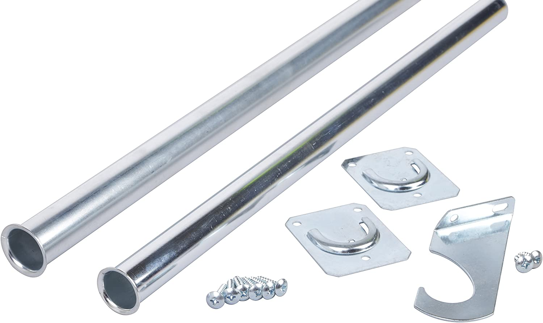 Closet Pro CD-0024-96120ZC Heavy Duty Adjustable Rod 96 by 120-Inch Zinc Plated