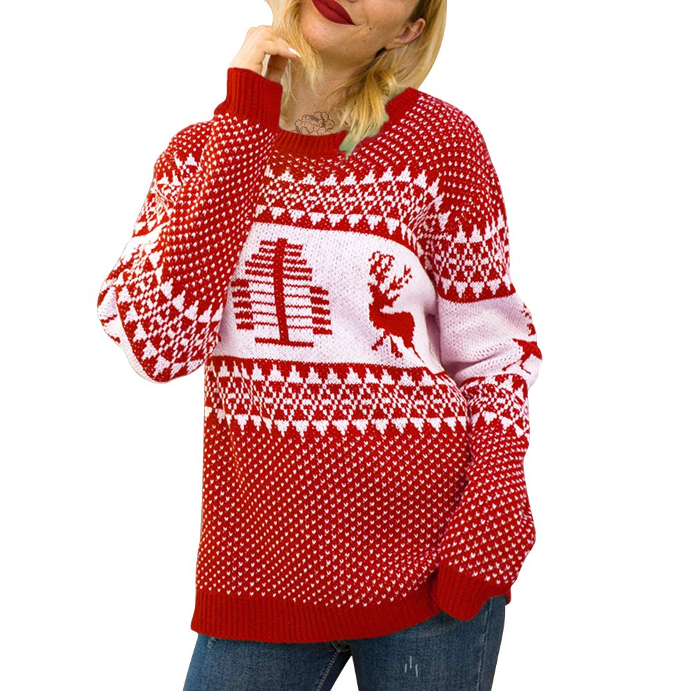 Exlura Patterns Reindeer Ugly Christmas Buy Online in