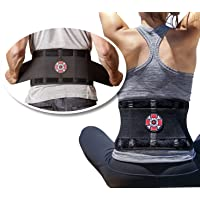 Old Bones Therapy Lower Back Brace with Adjustable Straps | Lumbar Support for Immediate...