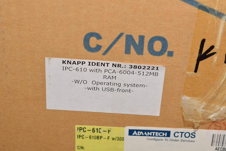 NEW Advantech IPC-610-F Classic 4U 15-Slot Rackmount Chassis
