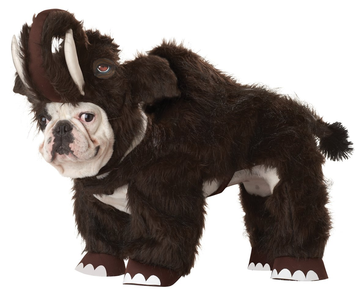 Animal Planet Wooly Mammoth Dog Costume, X-Small, Brown by Animal Planet (Image #1)