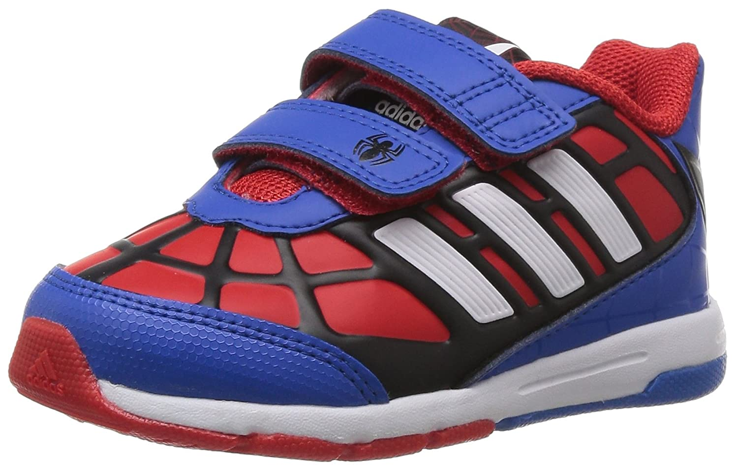 adidas Disney Spider-Man CF I, Baby Boy's Fashion Trainers Red Size: 8.5K:  Amazon.co.uk: Shoes & Bags