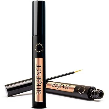 2243253bc9f Amazon.com: Silksence Eyelash Growth Serum for Lash and Brow Irritation  Free Formula (5ML): Beauty