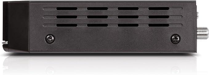 Engel RS8100HD - Receptor satélite de sobremesa (Full HD, PVR, Lector Conax, WiFi, USB 2.0, HDMI, DVBS2, 1 tunner) Color Negro