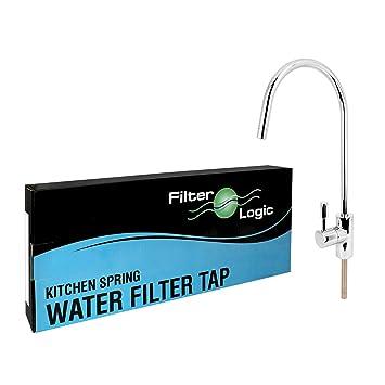 FilterLogic Wasserhahn Vierteldrehung Hebel KOMPAKT Küche Spüle ...