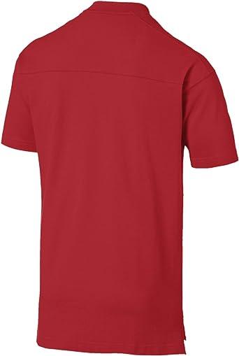 Puma 2019-2020 AC Milan Casuals - Camiseta de fútbol, color rojo ...