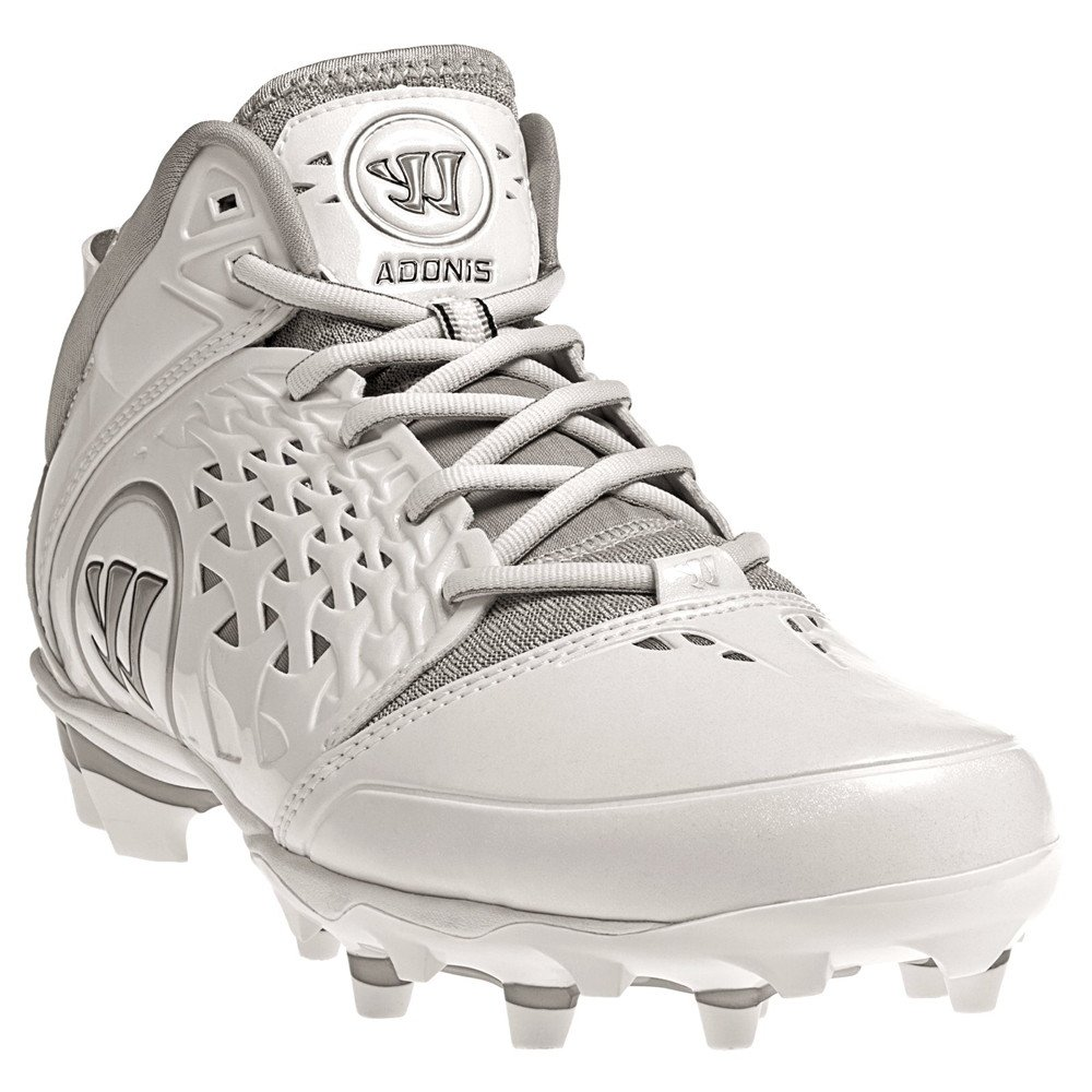 Warrior Adonis Rabil Cleat, White, 9 D US