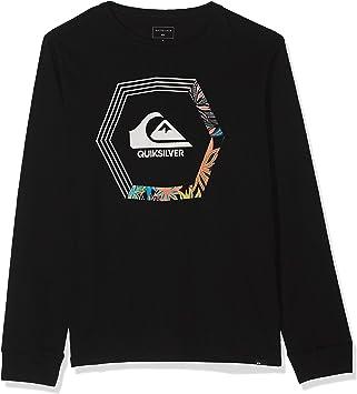Ni/ños 8-16 Quiksilver Camiseta de Manga Larga