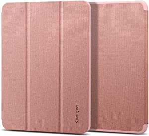 Spigen Urban Fit Designed for iPad Air 4th Generation 10.9 Inch Case with Pencil Holder (2020) - Rose Gold