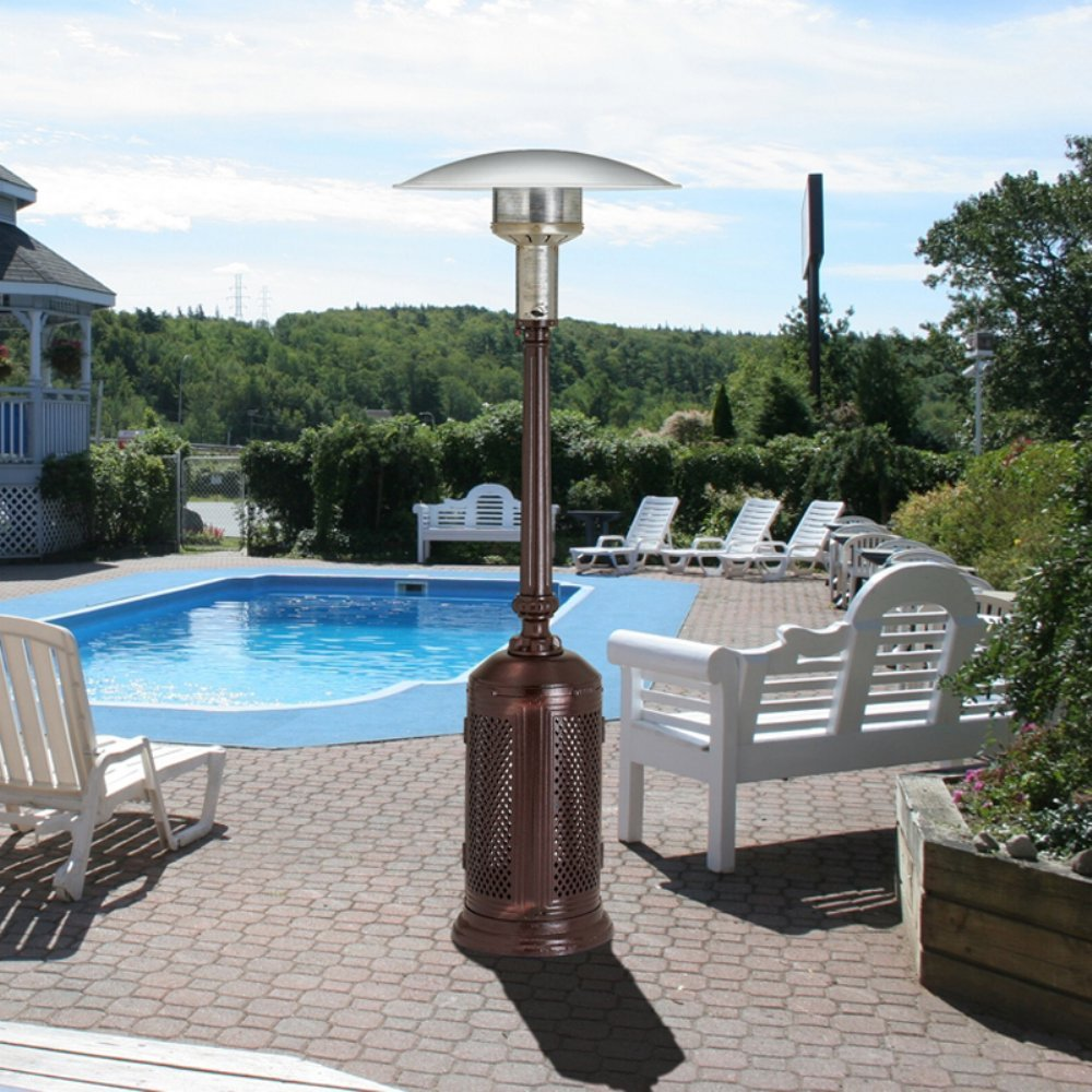 Amazon.com : Patio Comfort Vintage Series Portable Patio Heater : Portable  Outdoor Heating : Garden U0026 Outdoor