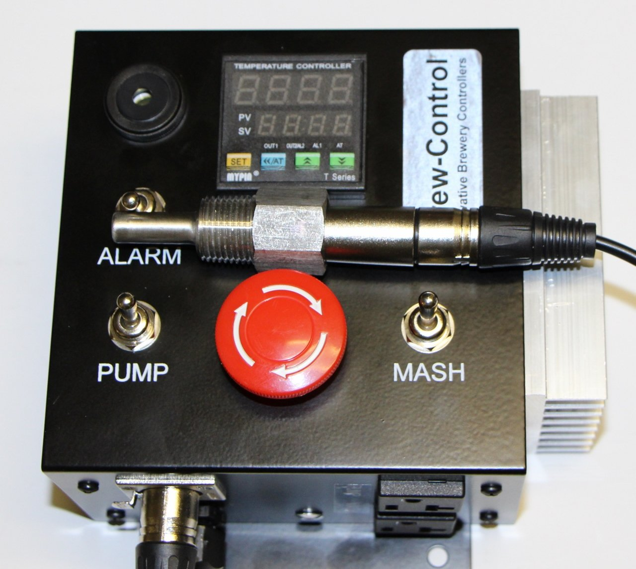120v Electric Mash Tun/RIMS (Recirculating Infusion Mash System) Tube Controller with 15 Amp GFCI Plug and pump control