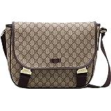 5f6f57358461 Amazon.com | Gucci Men's Laptop Sling Messenger Bag 278301 (Brown ...