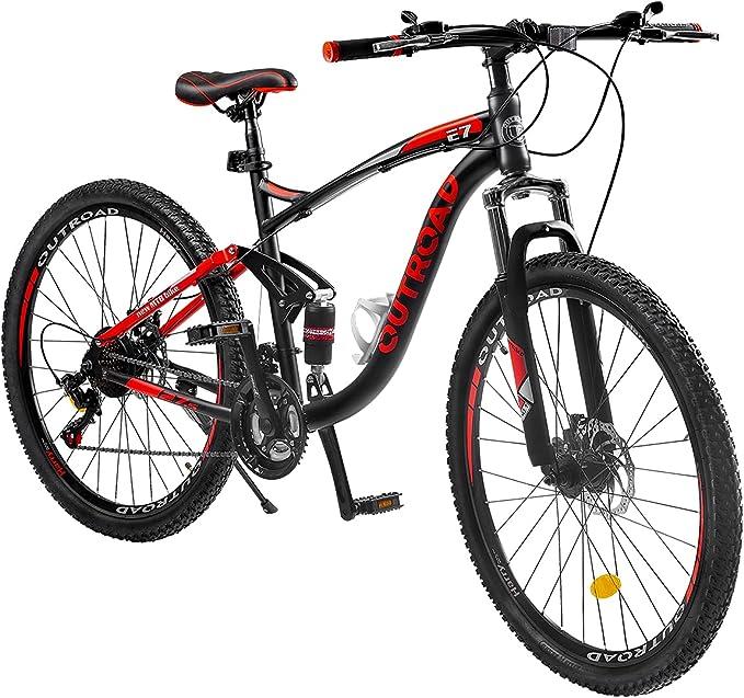 Outroad Mountain Bike 26-inch Wheel Bike   Amazon