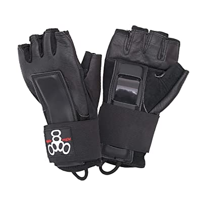 Triple Eight Hired Hands Skateboarding Wrist Guard Gloves : Skate And Skateboarding Wrist Guards : Sports & Outdoors