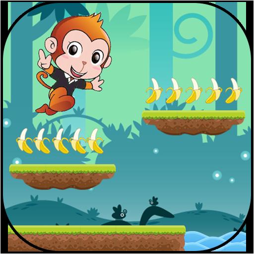 Curious adventure the jungle monkey]()