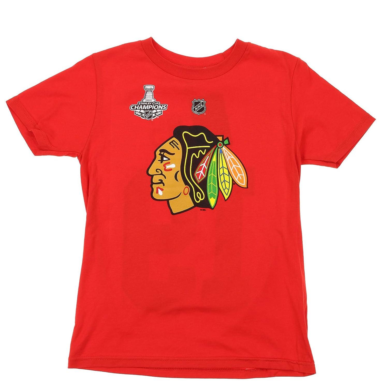 NHL Big Boys Youth Chicago Blackhawks Patrick Kane #88 Player Tee Red