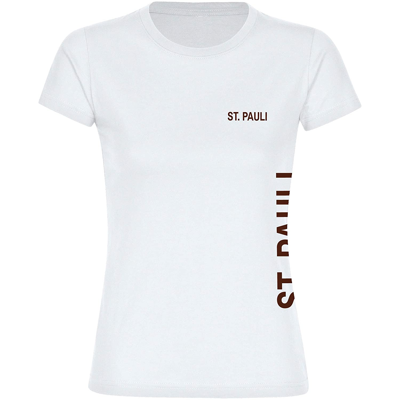 Multifanshop Camiseta con Texto St. Pauli Seitlich en el Pecho y ...