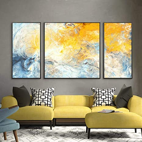 LCLZ Color Abstracto Moderno Pintura Salón Dormitorio ...