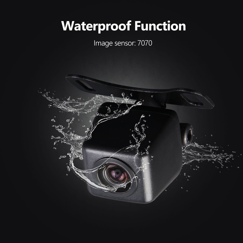 eonon HD hinten Kamera Fahrzeug Kamera Back-up Cam R/ückfahrkamera 420.000 Pixel Weitwinkel 170 /° Wasserdicht und Farbe CMD Kamera PAL System A0119
