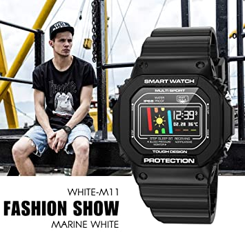 HKPLDE Smartwatch/Fitness Tracker Pulsera Actividad Calorías Sport ...