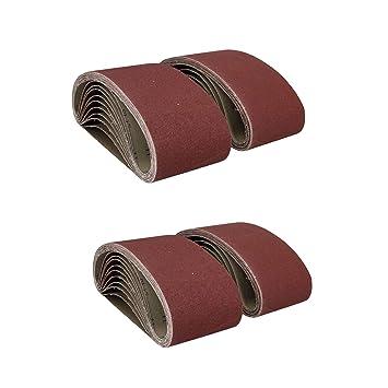 20 Bandschleifpapier 100 x 610 Schleifpapier Bandschleifer Schleifband Werkzeug