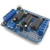 AutoFun L293D Motor Drive Shield Stepper For Arduino UNO Duemilanove Mega R3 AVR ATMEL
