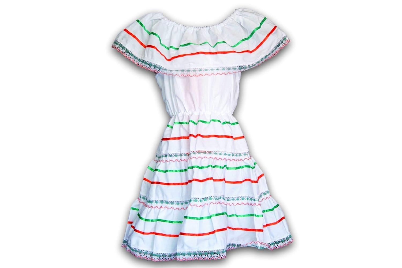 Amazon.com: Vestido de México para niñas – Días ...