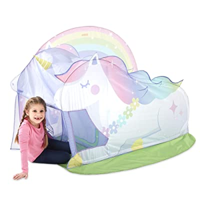 Basic Fun Playhut Unicorn Hut Pop-Up Play Tent for Indoor or Outdoor Play-Great Gift for Girls: Toys & Games