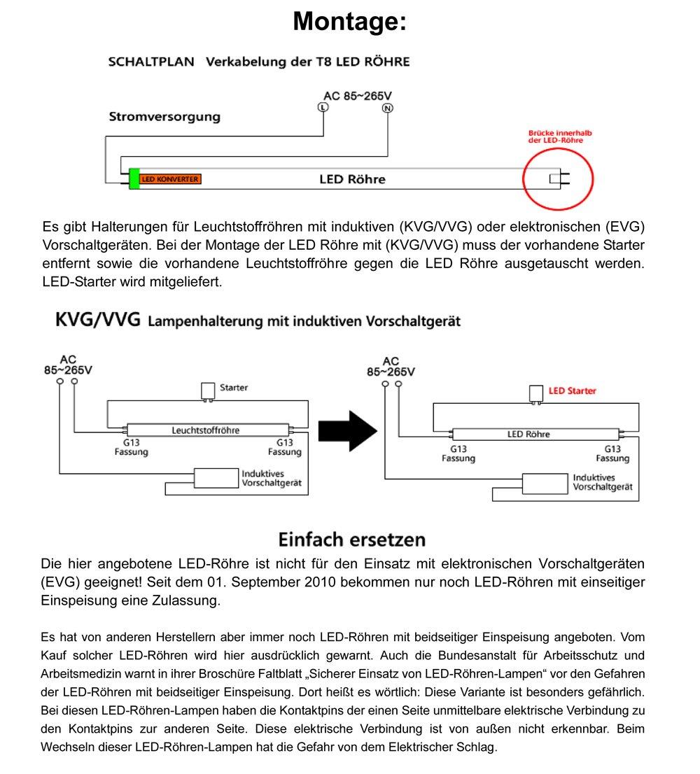 Tolle T8 Schaltplan Des Elektronischen Vorschaltgeräts Galerie - Der ...