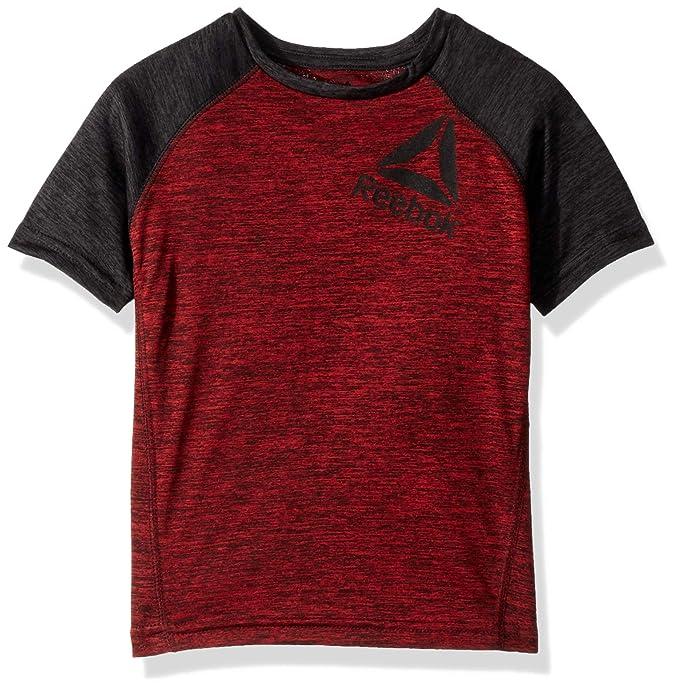 myydyin tuote paras online upouusi Reebok Boys' Space Dye Stretch Varsity T-Shirt