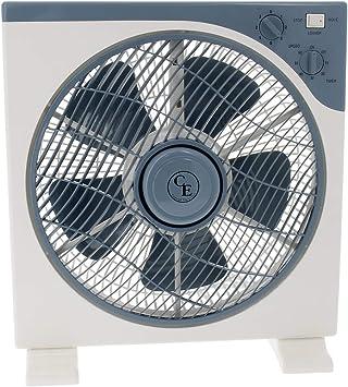 Ventilador / Circulador de aire frontal rotatorio Cornwall - 40cm ...
