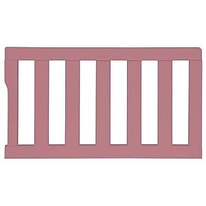 Dream On Me Universal Convertible Crib Toddler Guard Rail, Rose