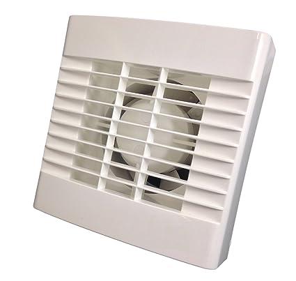 Baño/Axial para ventilador Extractor con temporizador para 100 mm/10,16 cm