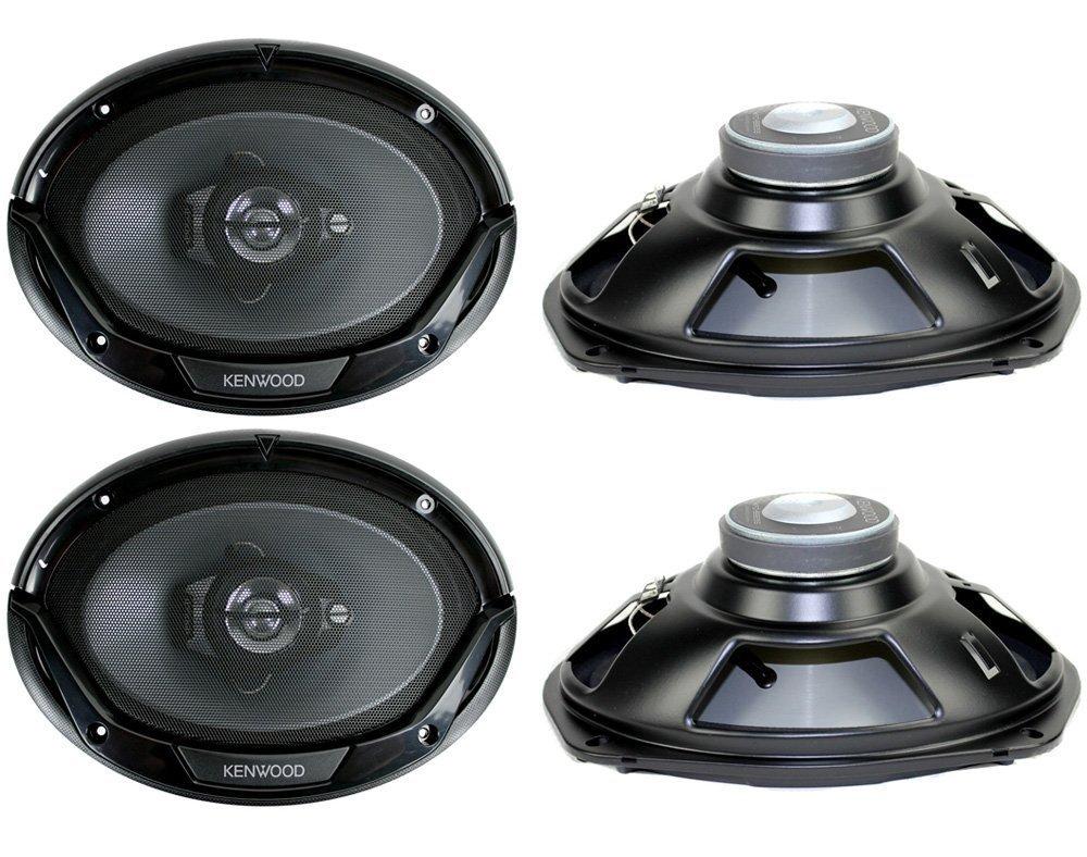 Amazon Com 4 New Kenwood Kfc 6965s 6x9 800 Watt 3 Way Car Audio