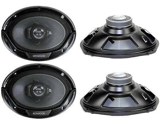 Amazoncom 4 New Kenwood KFC6965S 6x9 800 Watt 3Way Car Audio