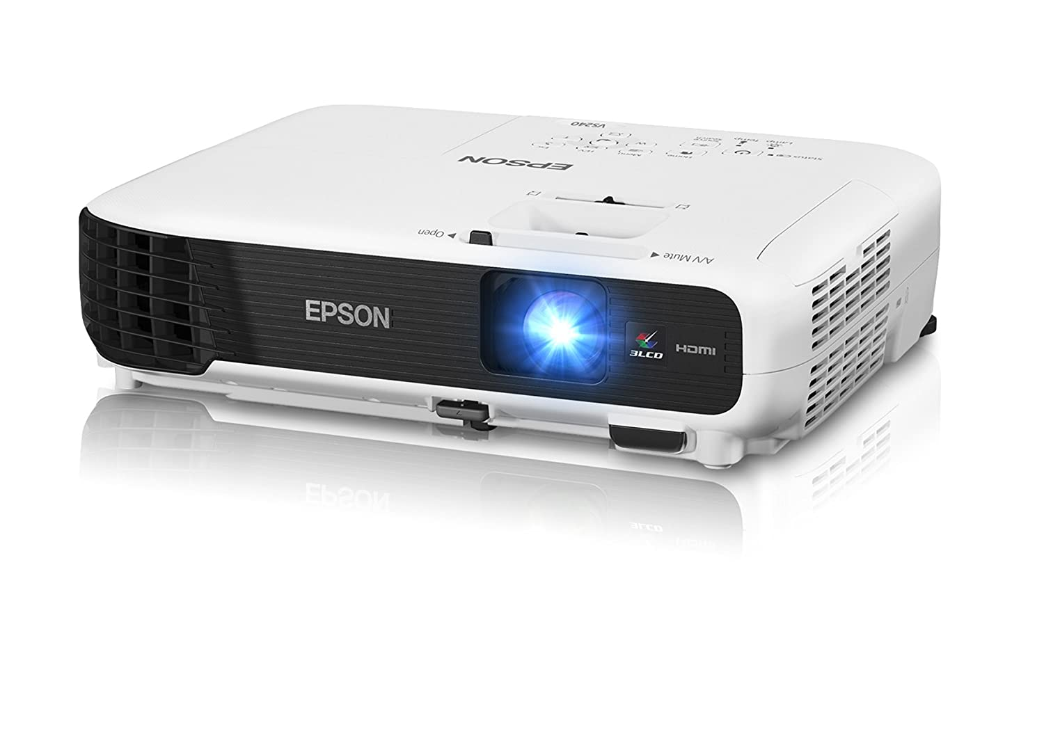 Epson VS240 SVGA 3LCD Projector 3000 Lumens Color Brightness