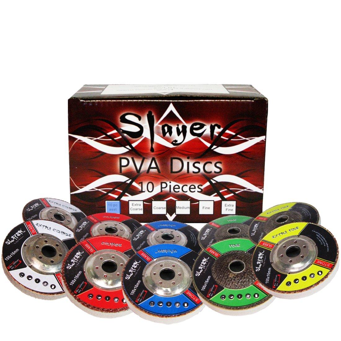 4'' Slayer PVA Polishing Discs Kit - 10 Piece Complete Set